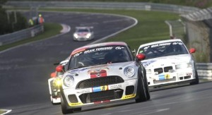 MINI Coupe races at Nurburgring 24 Hour :