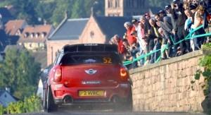 MINI WRC France 2nd place!