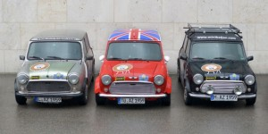 From the Bavarian Allgäu to Azerbaijan in a classic Mini :