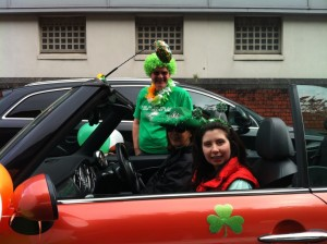 MiniClub in Cobh St. Patrick's Day Parade :