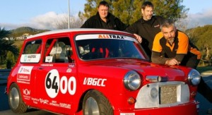 New Zealanders Build Classic Mini Bonneville Salt Racer :