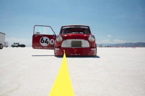 Classic Mini Screams Past Record at Bonneville :