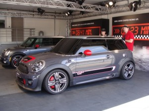 Gearing up for its world debut: The MINI John Cooper Works GP :