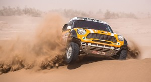MINI 2nd at Rally Morocco, Set Sights on Dakar :