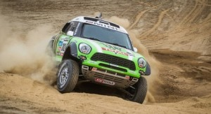 Dakar 2013 Update: Four MINIs in the Top Ten