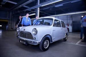 Restored Dutch-built Classic Mini On the Road Again :