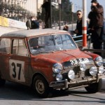 MINI Celebrating 50th Anniversary of Monte Carlo Rally Win :