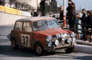 MINI Celebrating 50th Anniversary of Monte Carlo Rally Win :