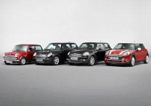 "The new MINI: a present-day original and ""Classic of the Future"" :"