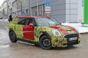 Spied: F54 Clubman S Caught with Reduced Camouflage: