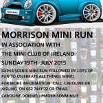 Morrison Mini Run July 19th 2015 :