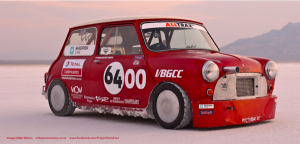 Project '64 Mini breaks 166 mph speed record :