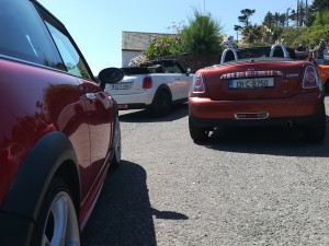 Photos of the Mini Club run today in Courtmacsherry in West Cork :