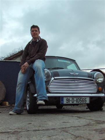 Mark and his Mini again